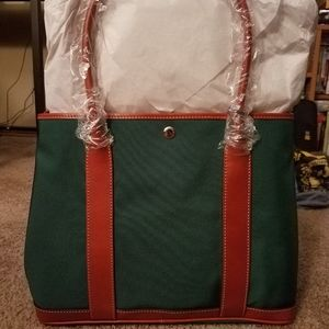 NWT Dooney and Bourke Nylon Layla tote and wallet